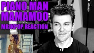 getlinkyoutube.com-MAMAMOO Piano Man Reaction / Review - MRJKPOP ( 마마무 )