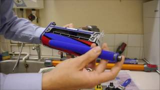 getlinkyoutube.com-How to clean and maintain the Dyson V8 Cordless Vacuum Cleaner
