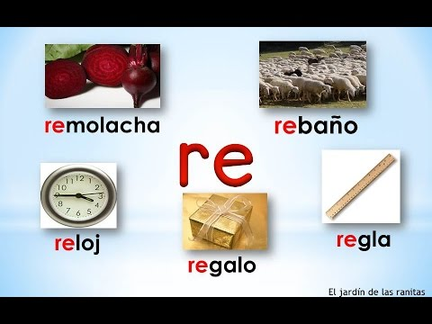 # 12 Sílabas ra re ri ro ru - Syllables With R (Hard Sound)