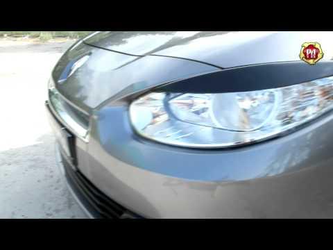 Реснички Renault Fluence (russ-artel.ru)