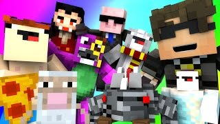 Minecraft Mini-Game : DO NOT LAUGH! (ROSS PASSES OUT IN A POOL OF JELLY..) w/ Facecam
