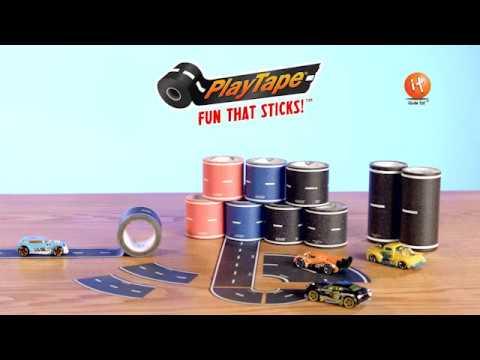 Play Tape Black Road 5cm