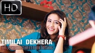 "getlinkyoutube.com-Brijesh Shrestha Ft Fuba Tamang ""TIMILAI DEKHERA"" [OFFICIAL M/V] HD"