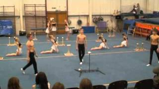 getlinkyoutube.com-Spelthorne Gymnastics - 09 Blocks routine