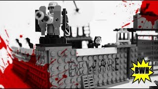 getlinkyoutube.com-Lego Zombie Defense Base MOC - [Halloween Special]