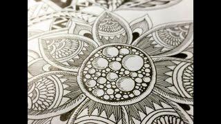 getlinkyoutube.com-How to Draw Botanical Doodle #10
