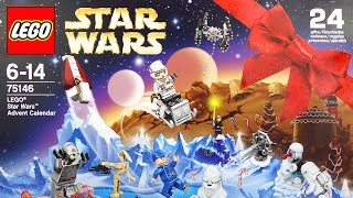 getlinkyoutube.com-LEGO STAR WARS ADVENT CALENDAR 2016 SET 75146