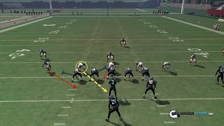 getlinkyoutube.com-Madden 16 Nano Blitz:  Quarter Normal - DB Strike 1