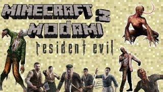 Minecraft z Modami #53 - Resident Evil Mod - MegaUltraZombie w minecrafcie!