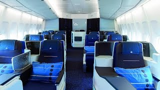 getlinkyoutube.com-KLM NEW WORLD BUSINESS CLASS | NEW YORK-AMSTERDAM | B747