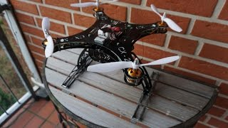 getlinkyoutube.com-Cheerson CX-20 GFK Frame Upgrade - Flugtest 2 mit Landekuven