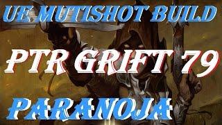 getlinkyoutube.com-Diablo 3 PTR Grift 79 DH patch 2.4 UE multishot build + Commentary