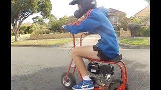 getlinkyoutube.com-Homemade Minibike