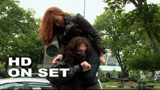 "getlinkyoutube.com-Captain America: The Winter Soldier: Scarlett Johansson ""Black Widow"" Behind the Scenes (Full Broll)"