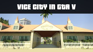 getlinkyoutube.com-VICE CITY IN GTA 5! | GTA 5 PC Mods