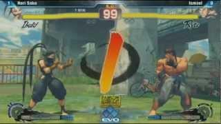 EVO 2012: Hori Sako (Ibuki) vs Ismael
