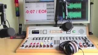 Analoges Radio Produktions- & Sendestudio mit mAirList,I/O-Warrior,Cartplayern,Bandmaschine,Optimod