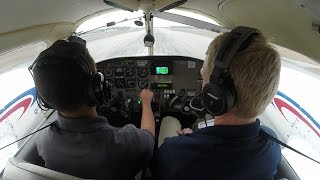 getlinkyoutube.com-Piper Seminole (PA-44) Multi Engine Training | Steep Turns, Slow Flight, Stalls | Cockpit Audio