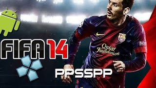 getlinkyoutube.com-Fifa 14 on ANDROID (with PPSSPP Gold Emulator)