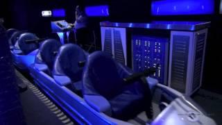getlinkyoutube.com-Space Mountain Front Row Nightvision HD Magic Kingdom Walt Disney World
