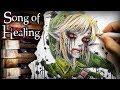 Song of Healing & Unhealing Majoras Mask + Ben Drowned Creepypasta Drawing