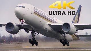 getlinkyoutube.com-4K Plane Spotting - (Panasonic HC-VX870 Test)