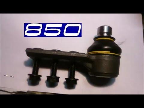 Замена шаровой опоры Volvo 850 (проблемы).
