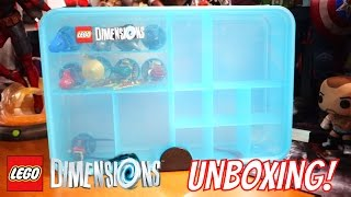 getlinkyoutube.com-LEGO Dimensions Gaming Capsule Storage Unit Unboxing and Review