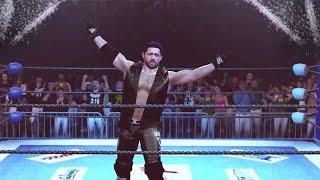getlinkyoutube.com-WWE 2k16 | AJ Styles CAW