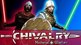 getlinkyoutube.com-Chivalry Modded - Star Wars Lightsaber Duels! (Medieval Warfare)