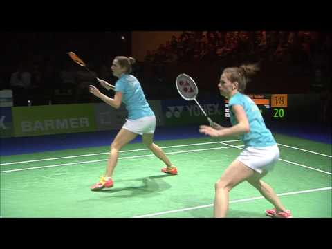 Yonex German Open 2017 | Badminton SF M5-MD | Iva/Soz vs Con/Kol