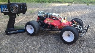 getlinkyoutube.com-Nikko Bison F10 on steroids! Brushless & 2s lipo powered