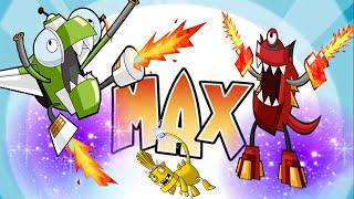 getlinkyoutube.com-Mixels Rush: Max MAx MAX - Cartoon Network Games