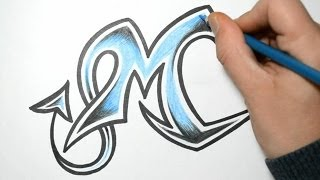 getlinkyoutube.com-How to Draw Wild Graffiti Letters - M