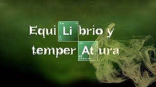 Imagen en miniatura para Equilibrio y temperatura. Ecuación de Van't Hoff