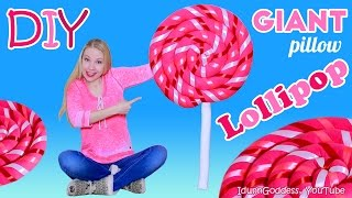 getlinkyoutube.com-How To Make Giant Lollipop Pillow – DIY Giant Lollipop Floor Cushion