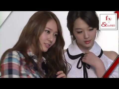 F(X) - by pinky&dianne 2012 spring summer PV