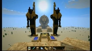 getlinkyoutube.com-Minecraft UGOcraft - Temple of the gods 1.6.2 - Egypt