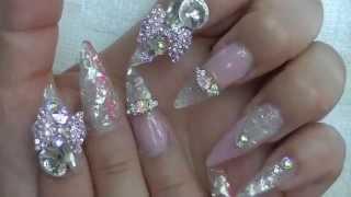 getlinkyoutube.com-Harajuku princess nails