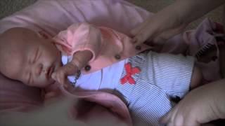 getlinkyoutube.com-Reborn baby Adelynn's morning routine!