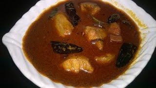 getlinkyoutube.com-Shark Curry With Roasted coconut...(Kerala Style HD)