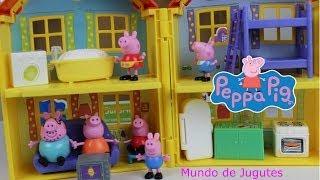 getlinkyoutube.com-Peppa Pig- La Casa-El Auto-Figuras-Jugutes Varidos Peppa Pig|Mundo de Jugutes