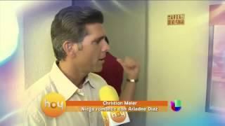 getlinkyoutube.com-Christian Meier y Ariadne Diaz ¿actúan su amor?
