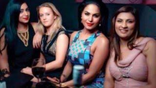Hot Veena Malik Caught Having Fun   Hot Hindi Latest News   Dubai   Family & Friends