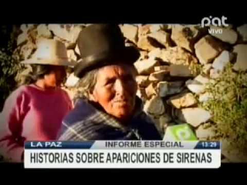 Informe especial, Sirenas en el Lago Titicaca #verPAT #Bolivia
