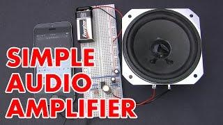getlinkyoutube.com-How to make an LM386 audio amplifier circuit (HD)