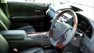 getlinkyoutube.com-レクサス RX450バージョンLエアサス