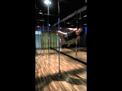 Dawn Marie Pole Combo: Knee Pose to Shoulder Mount Dismount...