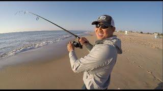 getlinkyoutube.com-Surf Fishing: Catch fish in MINUTES!