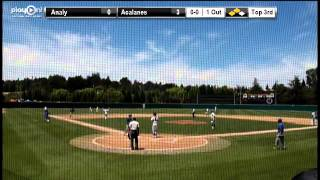 Analy's Grant St.Martin base hit 2 RBI